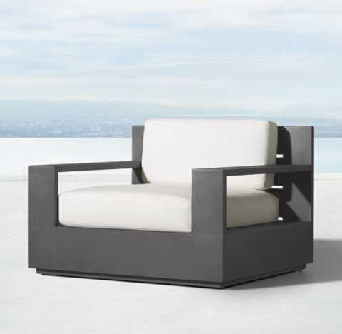 Marbella Aluminum Clic Lounge Chair